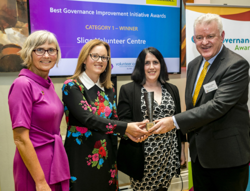 Sligo Volunteer Centre win Good Governance Award at National Ceremony