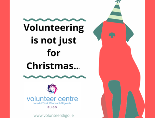 Volunteering is not just for Christmas…..